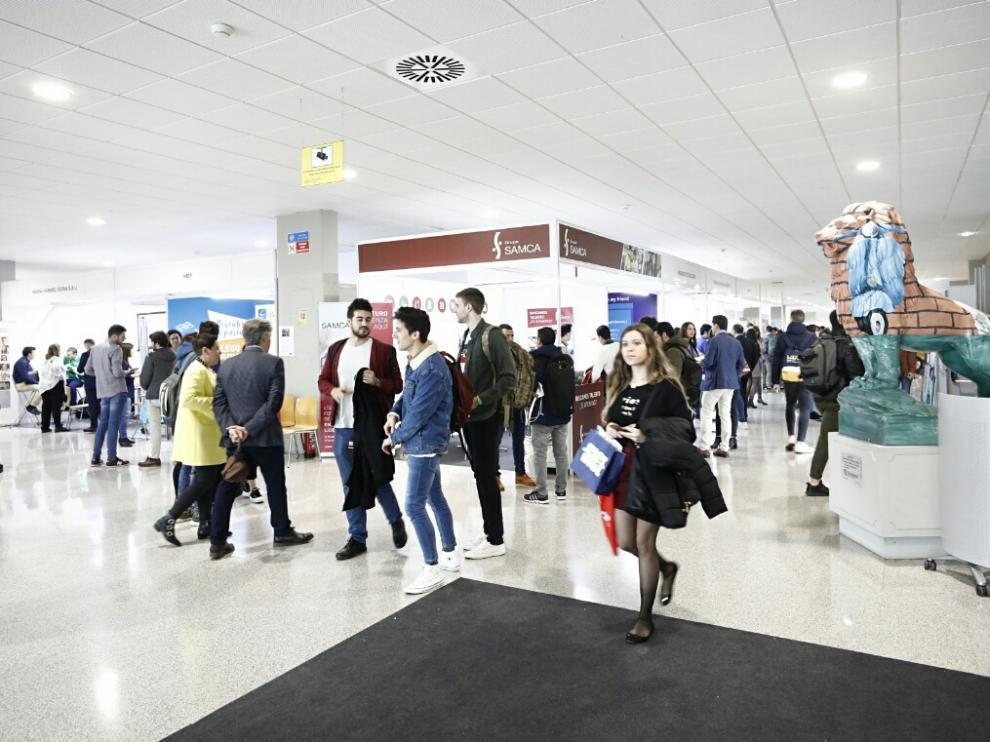 Expotalent, la Feria del Empleo en la Universidad de Zaragoza