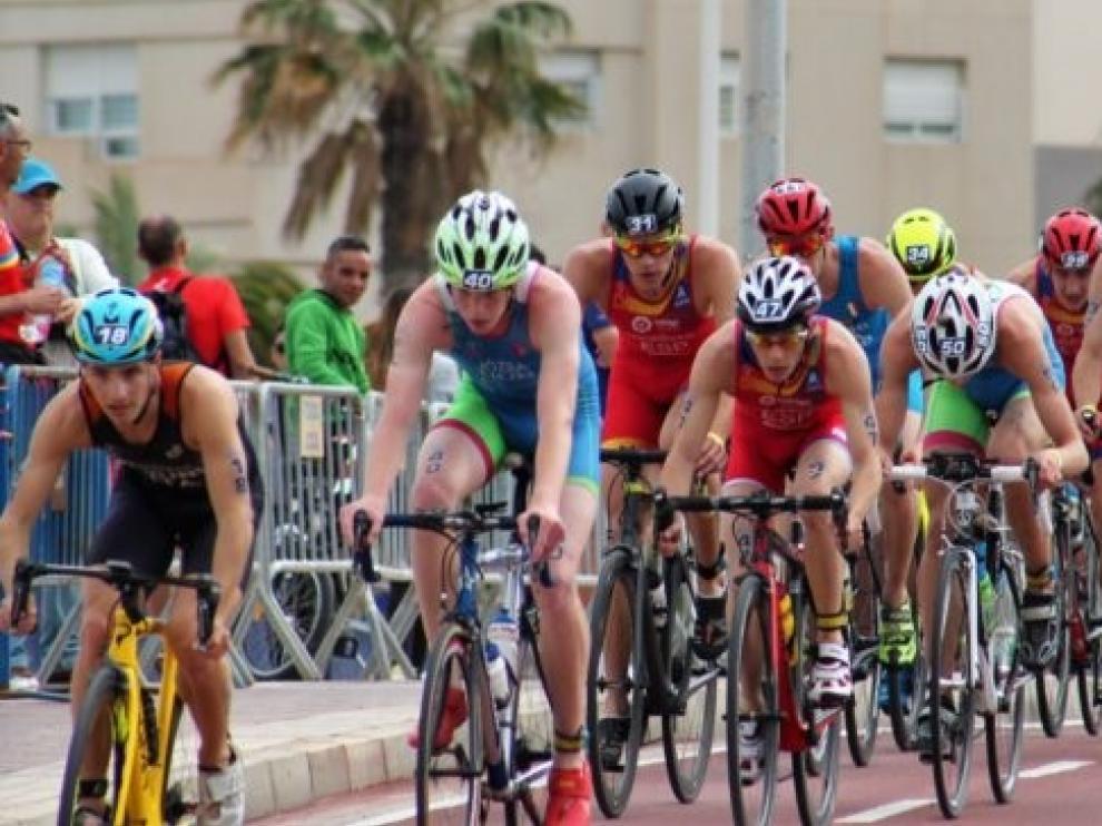 Trayecto ciclista en Melilla.