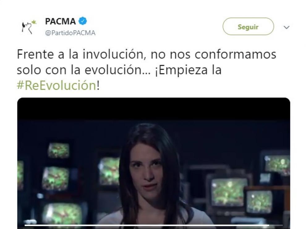 """Pacma lanza un potente vídeo contra Vox en el que lo tilda de """"involución"""""""