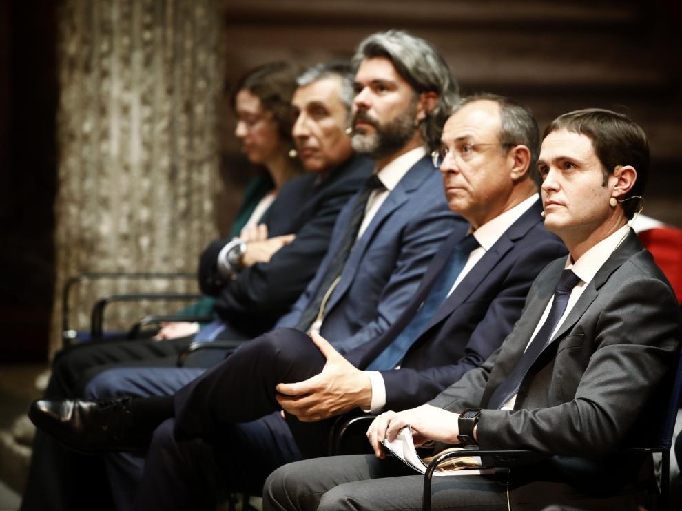 Presentación de la revista 'Economía aragonesa'