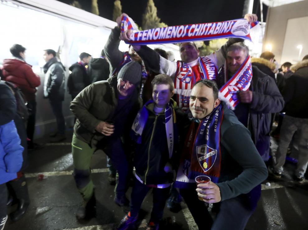 Partido SD Huesca- Real Valladolid / 1-02-19 / Foto Rafael Gobantes [[[FOTOGRAFOS]]]
