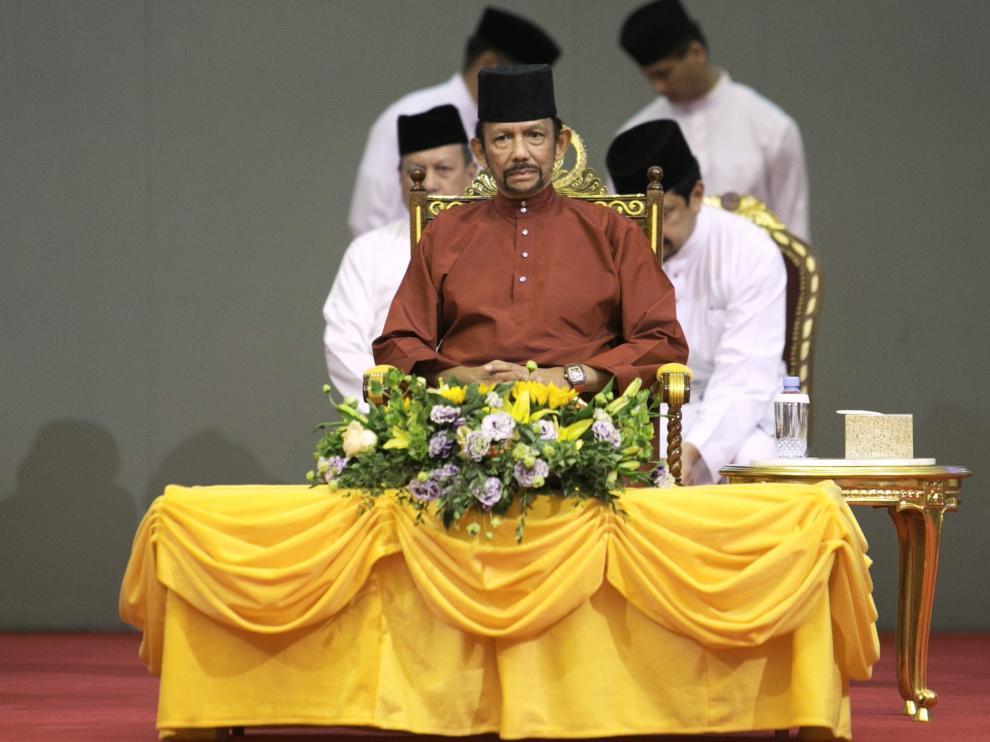 El sultán Hassanal Bolkiah de Brunéi en imagen de archivo.