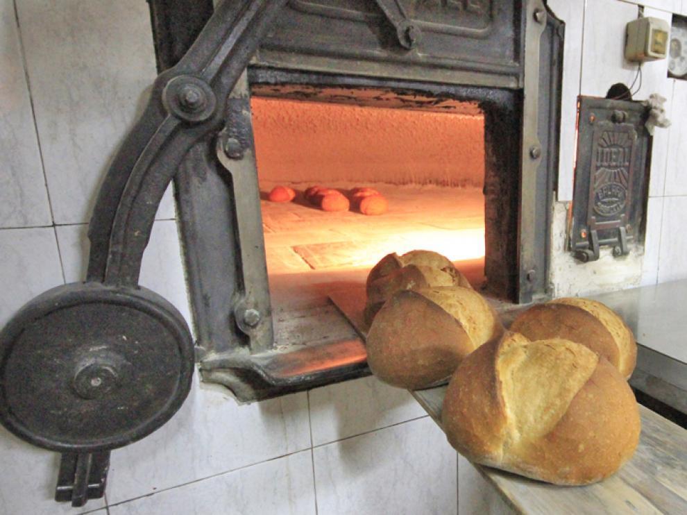 Foto de archivo de un horno de leña de un obrador aragonés.