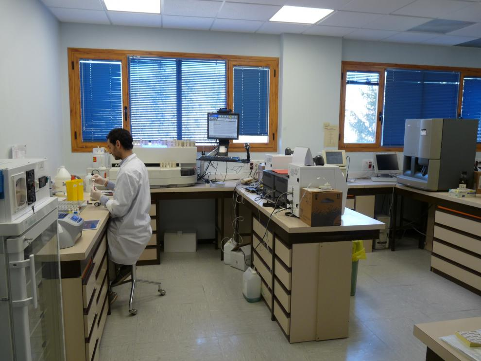 Nuevo laboratorio en el Hospital de Jaca.