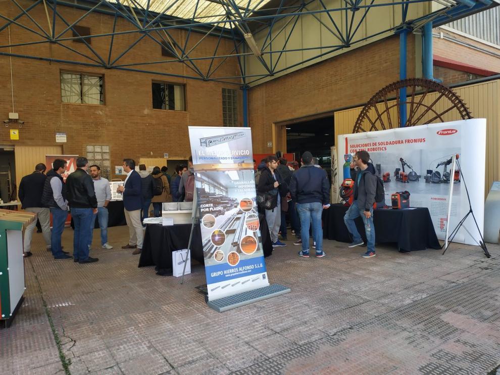 Más de 50 empresas participan en el primer Job Day del Centro San Valero y CPA Salduie.