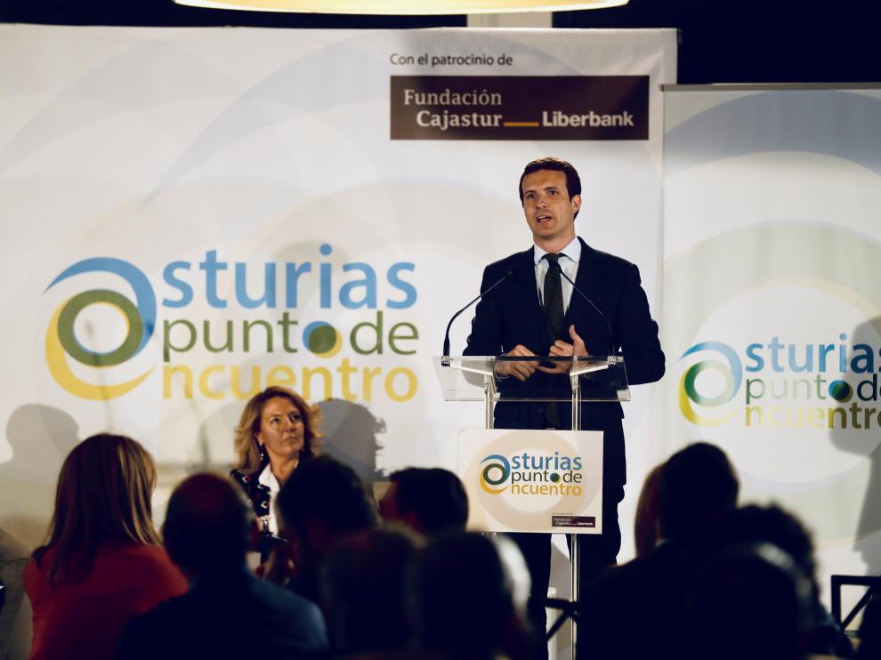 El líder del PP y candidato a la presidencia del Gobierno, Pablo Casado.