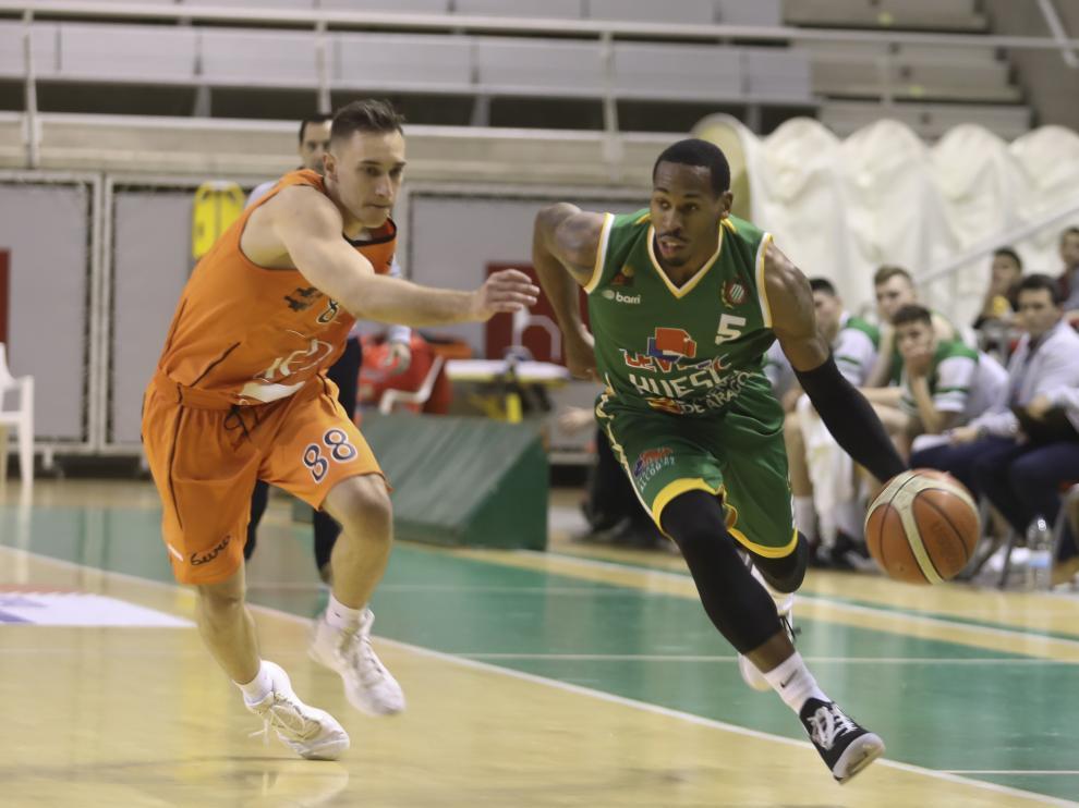 Partido baloncesto Levitec Huesca-Lleida. / 12-04-19 / Foto Rafael Gobantes [[[FOTOGRAFOS]]]