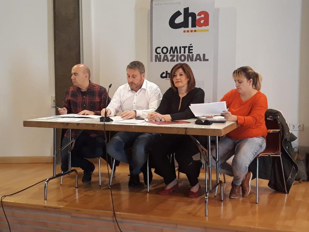El Comité Nazional de CHA es el máximo órgano del partido.