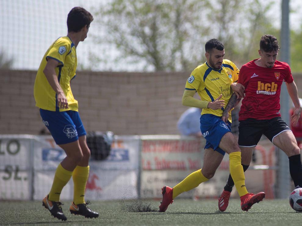 Fútbol. Tercera División- San Juan vs. Almudévar.