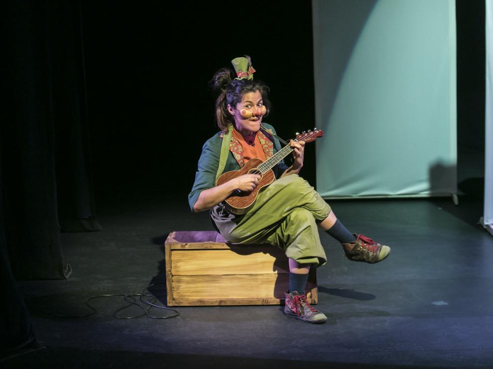 Alicia Juárez, protagonista del nuevo espectáculo de Arbolé.