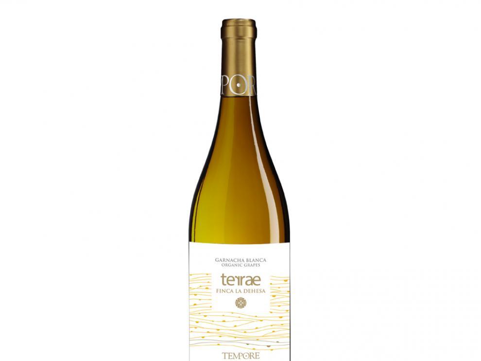 Botella de Terrae Finca La Dehesa, de Bodegas Tempore.