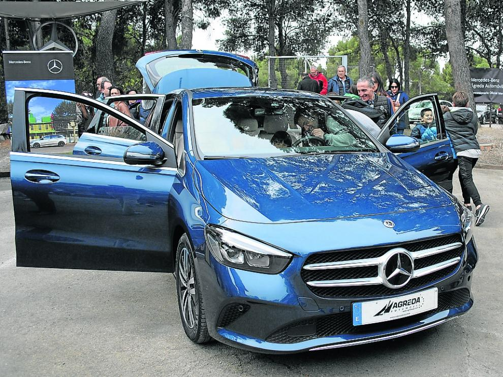 El nuevo Mercedes-Benz Clase B es un monovolumen práctico, pensado para la familia.