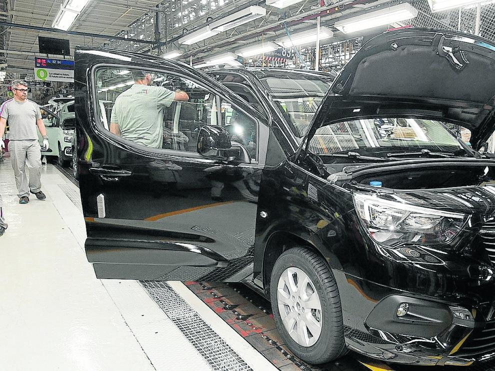 El Opel Combo, que sale de la planta de PSA en Vigo desde julio de 2018 y que refuerza la apuesta del grupo por este segmento.