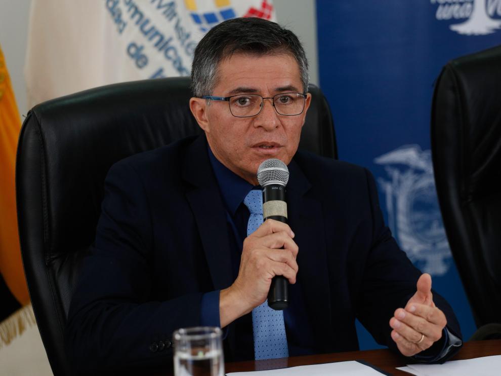 El viceministro de Telecomunicaciones de Ecuador, Patricio Real,