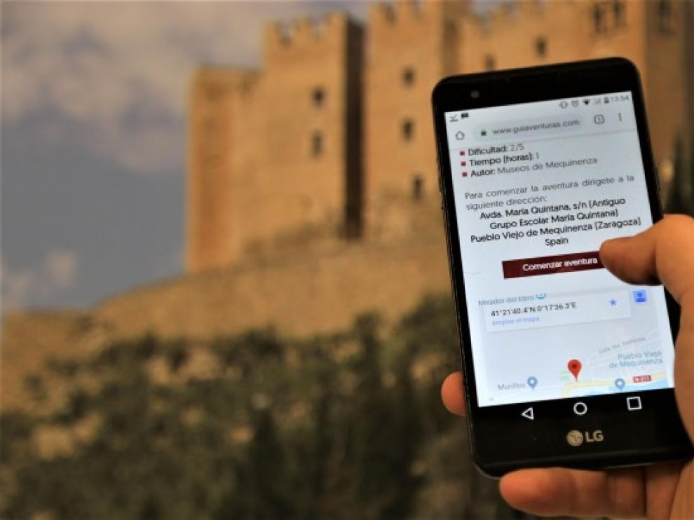Para participar en la yincana hay que tener un Smartphone y descargarse una aplicación.