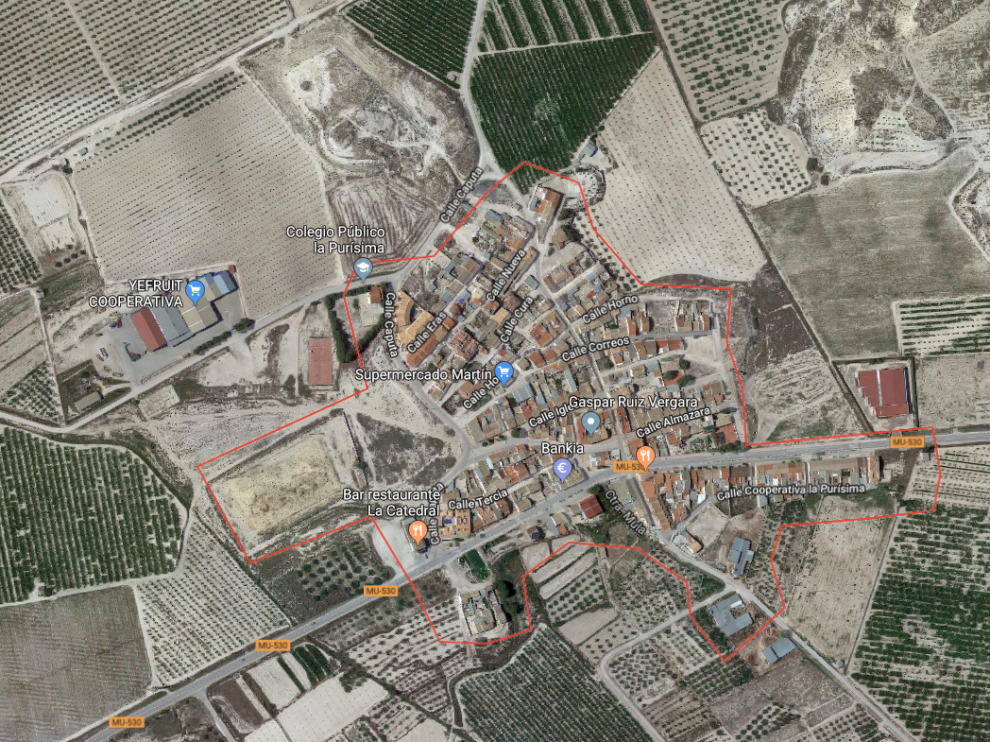 El suceso ha tenido lugar en un domicilio de la pedanía muleña de Yéchar, en Murcia.