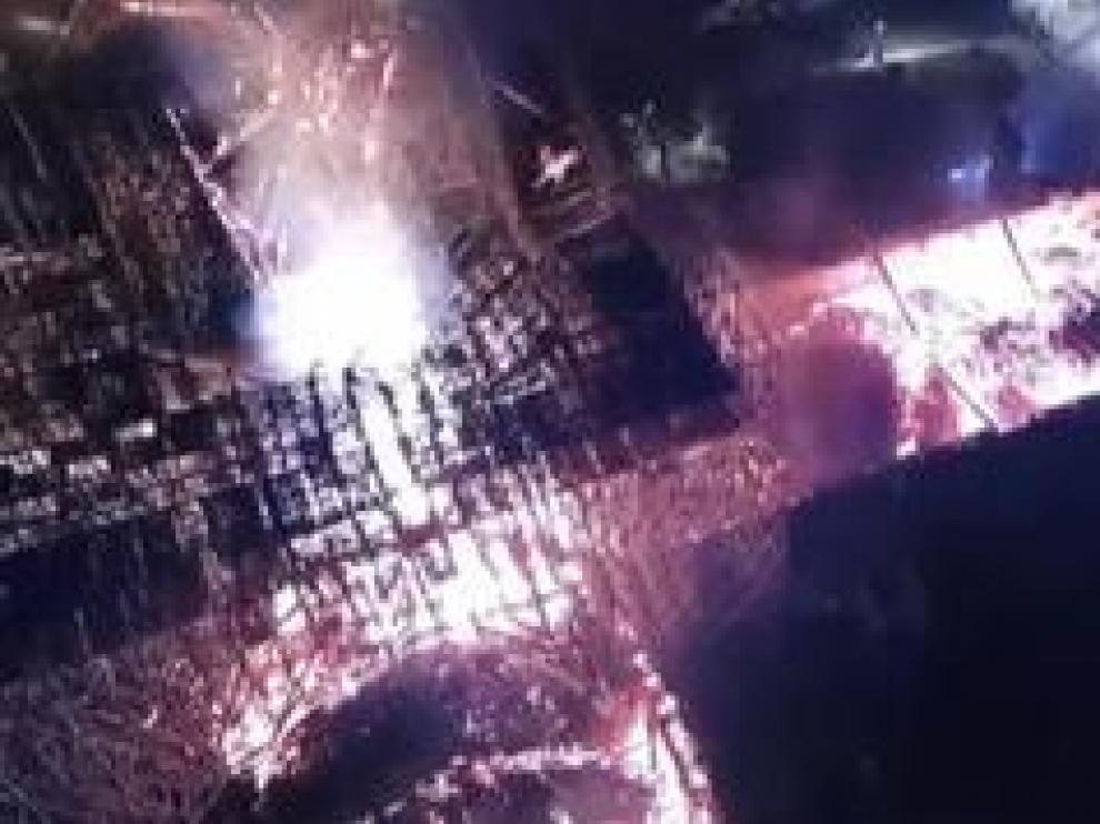 El símbolo de París ha sobrevivido a la destrucción total