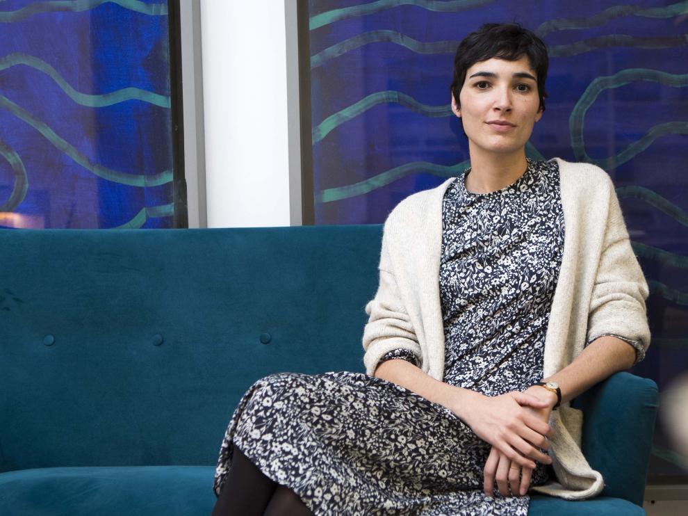 La guionista zaragozana, Isabel Peña.
