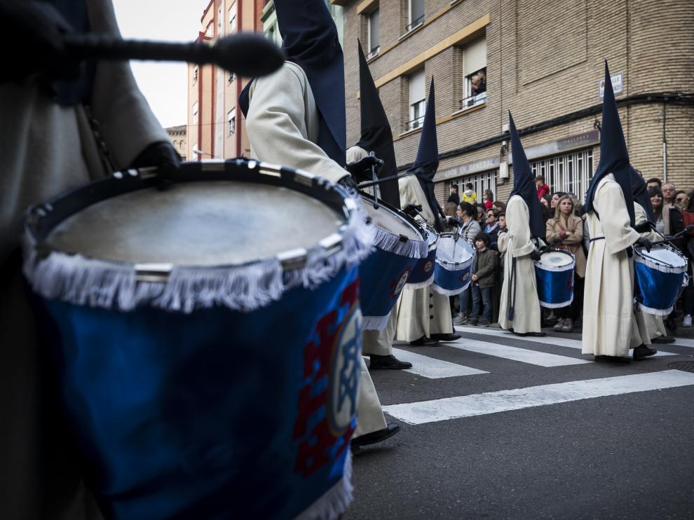 Imágenes de la procesión de la Piedad.