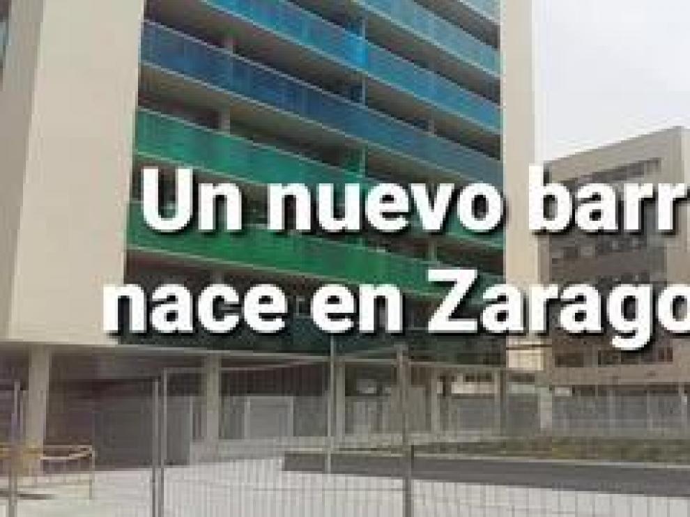 Ya se han dado las llaves de las primeras viviendas de los edificios situados en la ribera del Ebro, junto al barrio de Jesús. Heraldo TV habla con los nuevos vecinos que se están mudando.