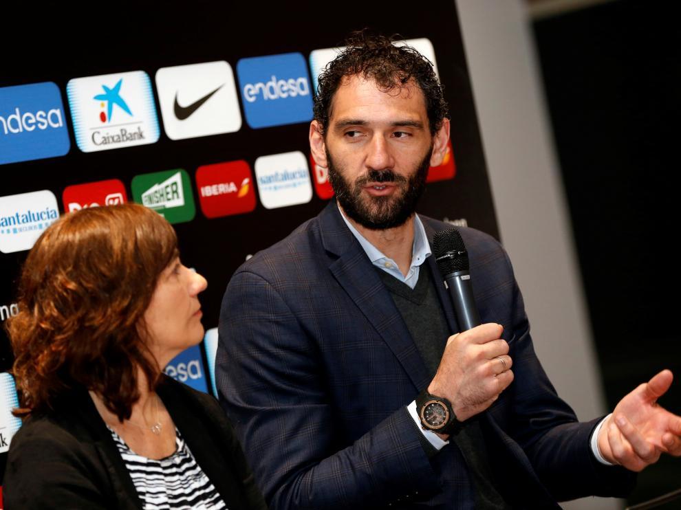 Jorge Garbajosa ve clave el partido de España-Lituania que se disputará en Pamplona.