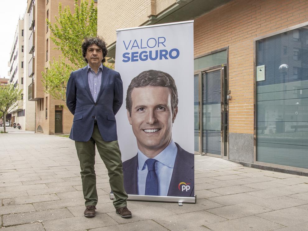 Mario Garcés, candidato al Congreso por Huesca.