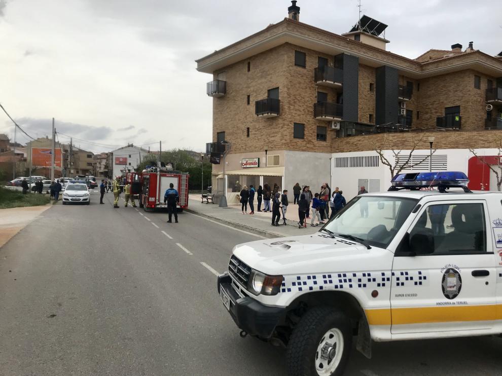 incendio en un bar de Andorra