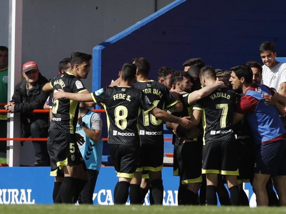 Marcaron Álvaro Vadillo y Adrián Ramos.