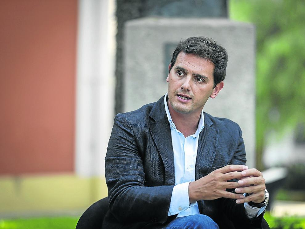 El candidato de Ciudadanos, Albert Rivera.