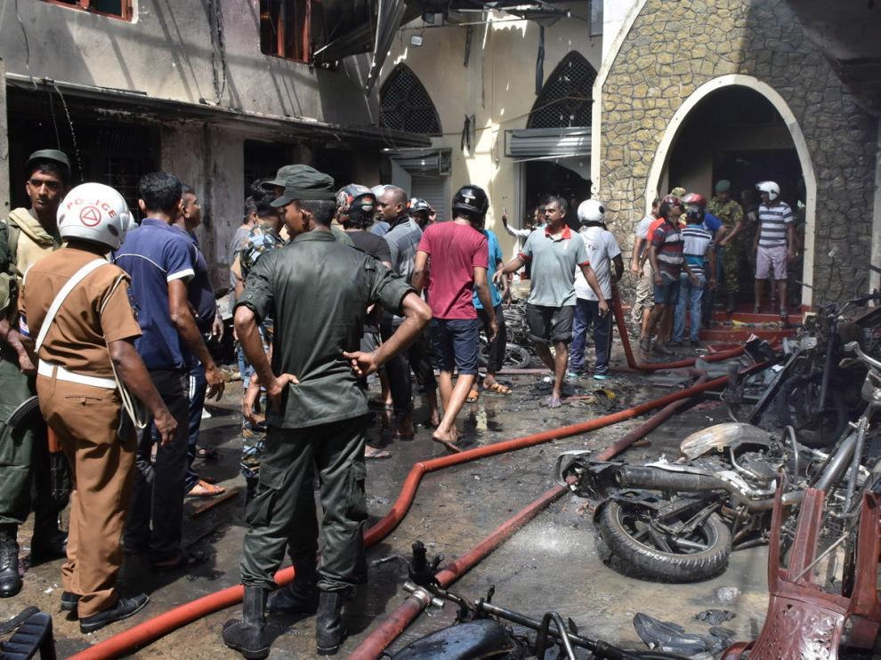 Cadena de explosiones en Sri Lanka