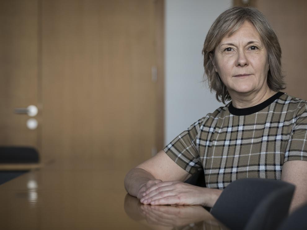 Gabriela Delsignore, socióloga de la Universidad de Zaragoza.