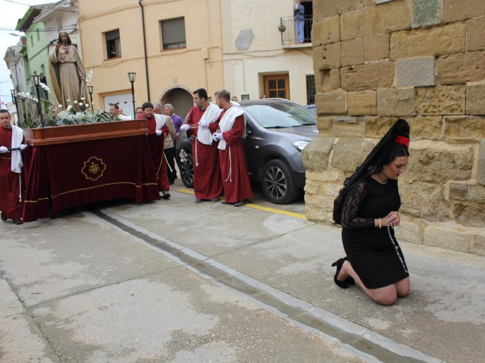 María Felipe ha sido la encargada de hacer las reverencias