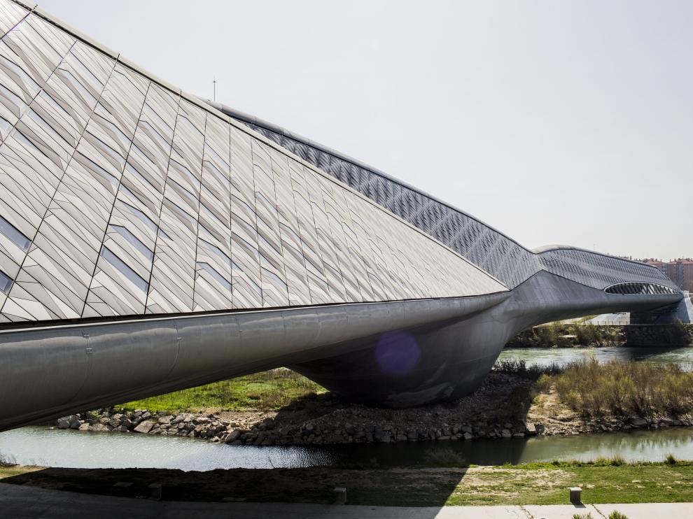 Pabellón Puente, en Zaragoza