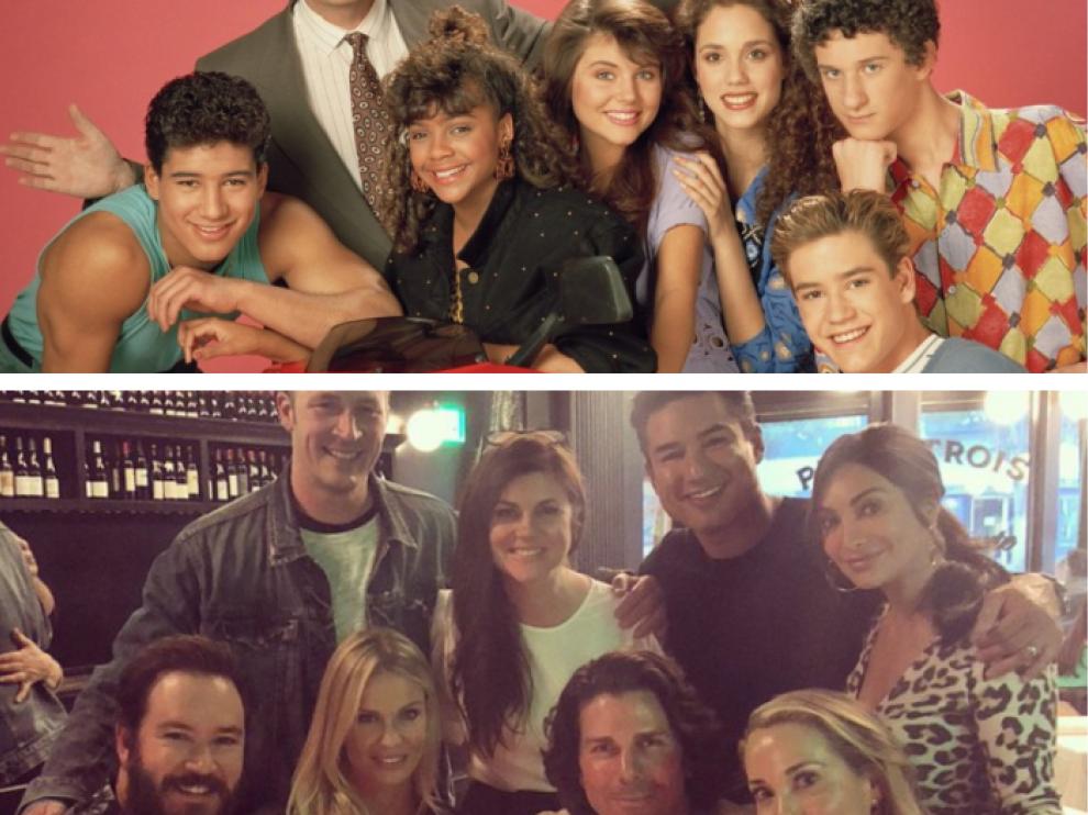 Los actores de la serie hace 30 años y recientemente