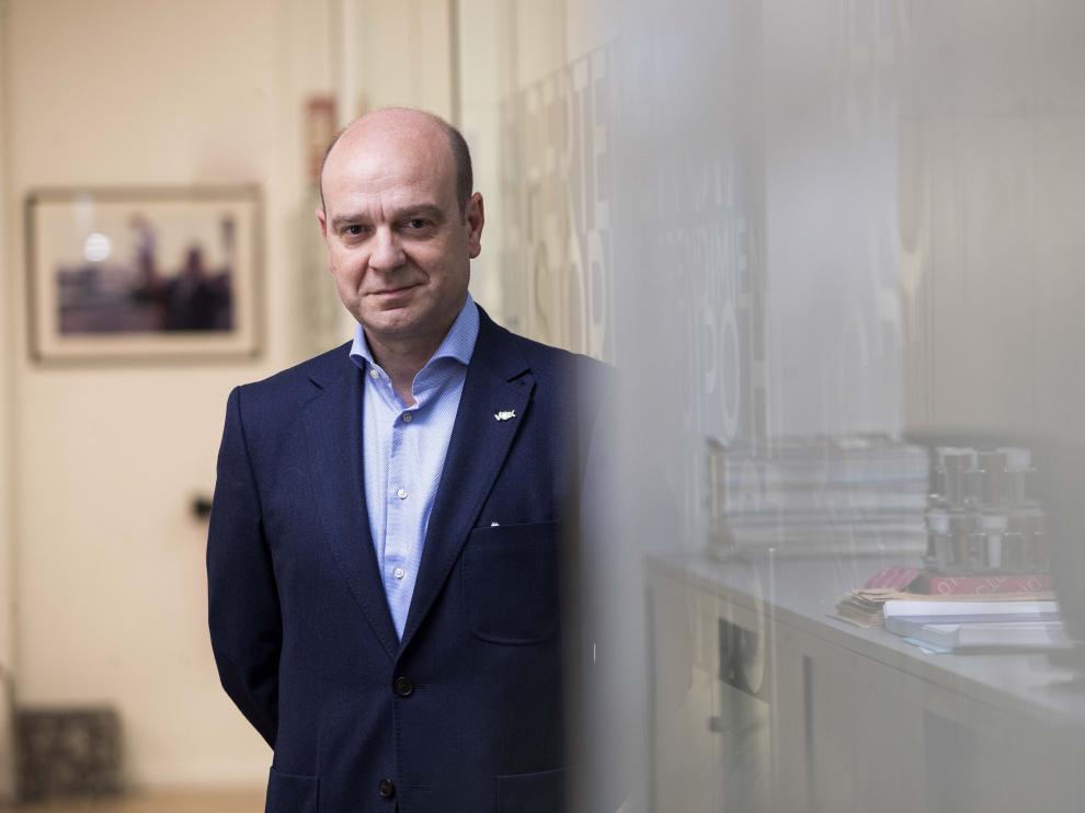 Santiago Morón, presidente de Vox Zaragoza.