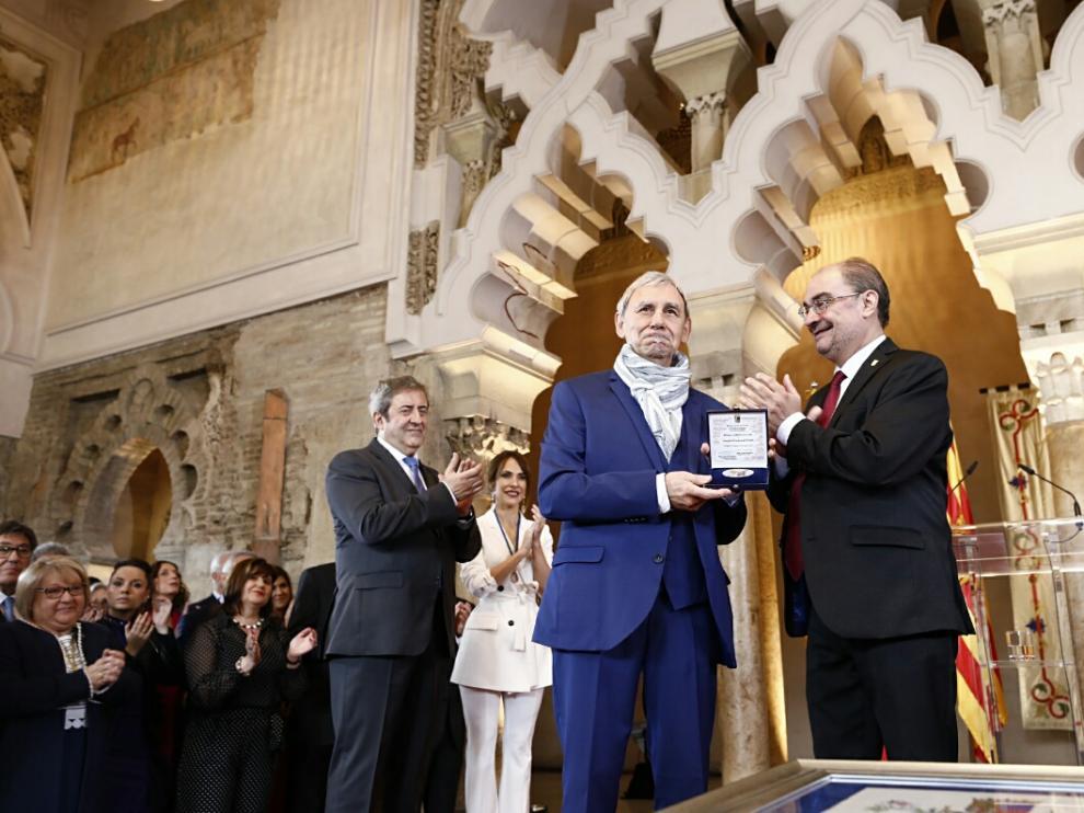 Acto institucional del Día de Aragón en el palacio de La Aljafería