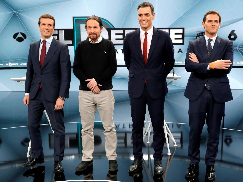 Los cuatro, en Atresmedia