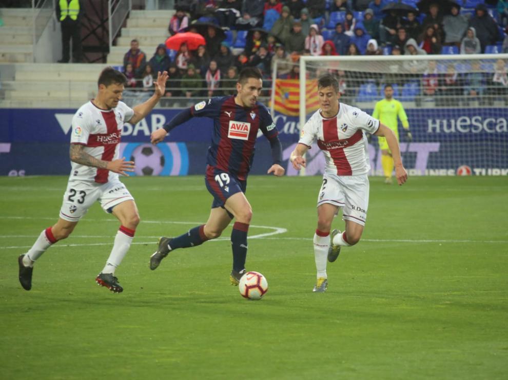 Partido de Primera División SD Huesca - Eibar en el Alcoraz