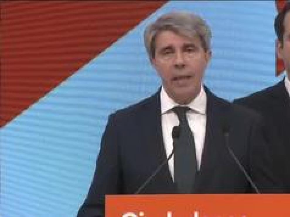 Ciudadanos incorpora a Ángel Garrido, que iba en las listas al Parlamento Europeo del Partido Popular