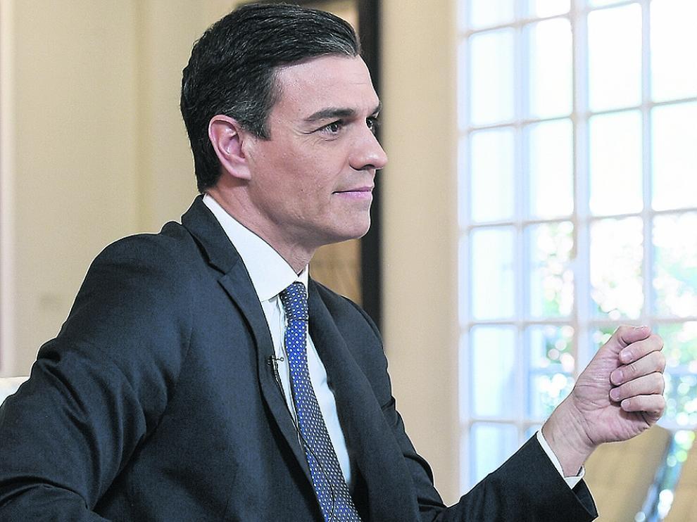 Pedro Sánchez, candidato del PSOE a la presidencia del Gobierno.