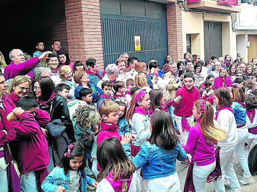 El pregón y el disparo del cohete abrieron las fiestas de la Virgen de Sancho Abarca que terminarán el 28-A.