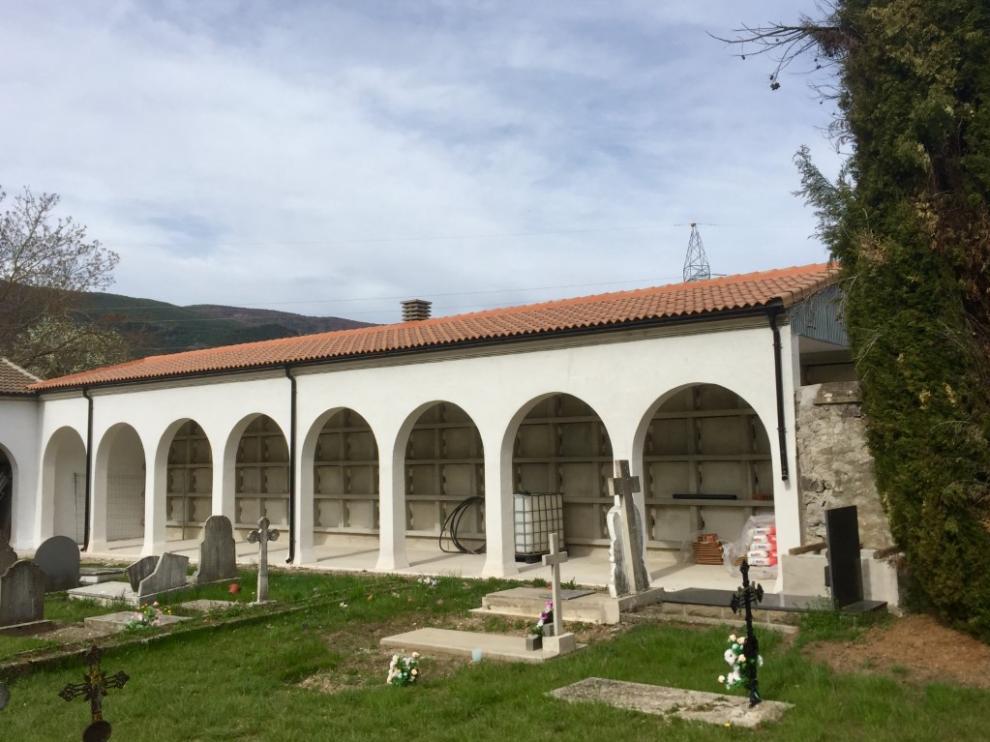 Cementerio municipal de Biescas.