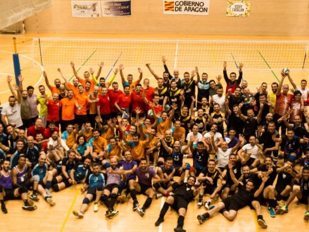 Equipo LGTBI de voleibol.