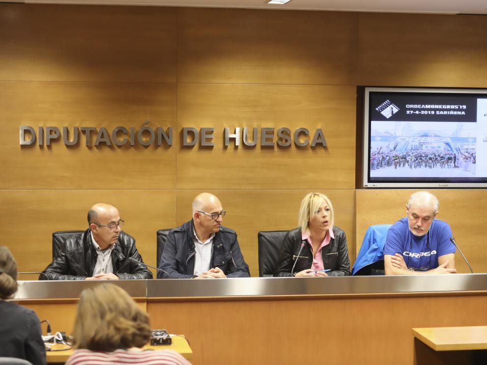 Presentación de la XIX Maratón Orbea Monegros.