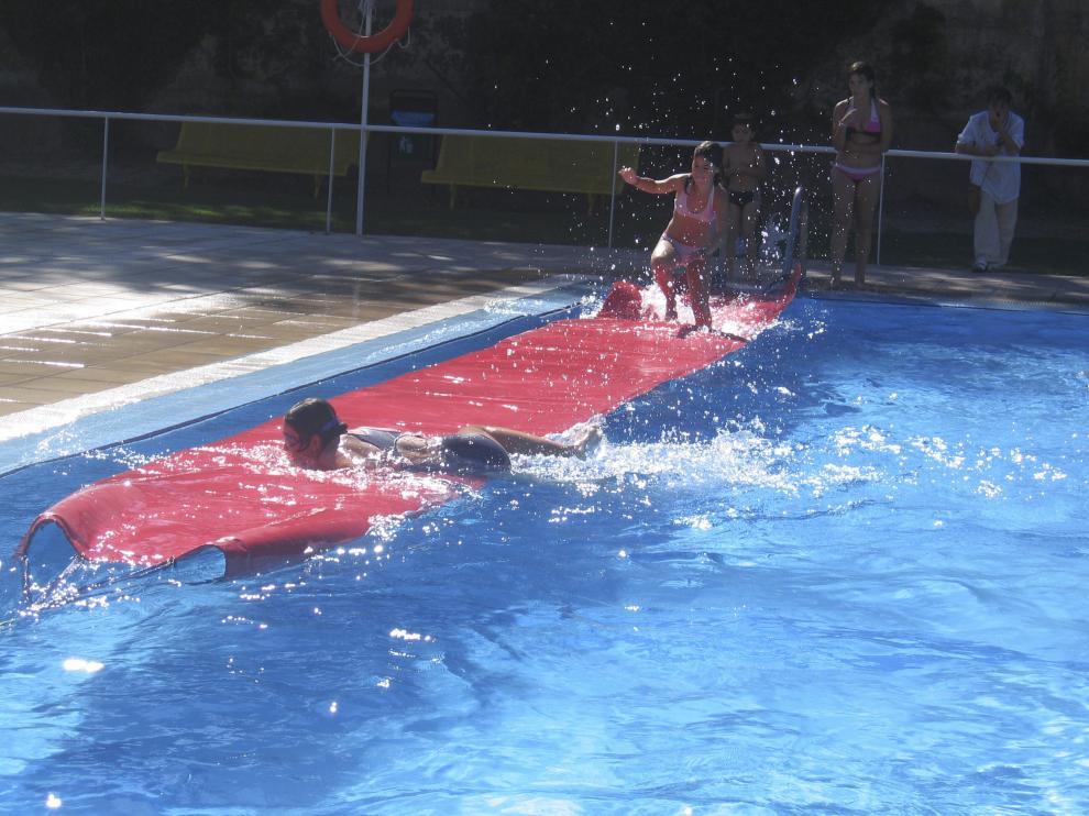 La piscina de verano de Tarazona, en una imagen de archivo.