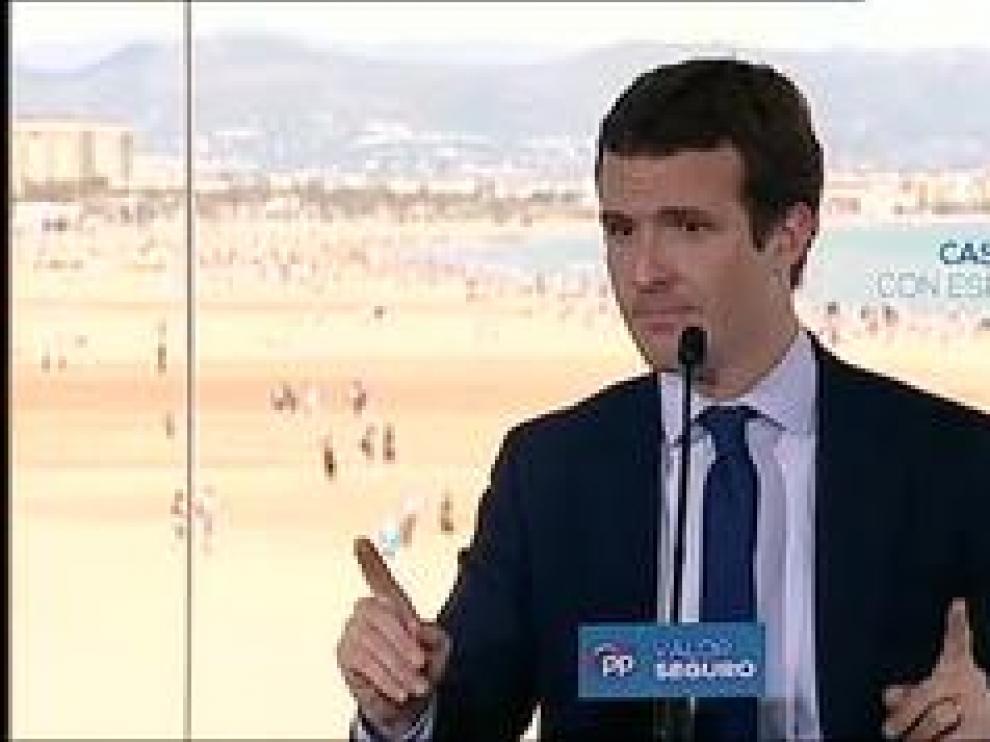 El presidente del PP hace un llamamiento para aglutinar el 'voto útil'