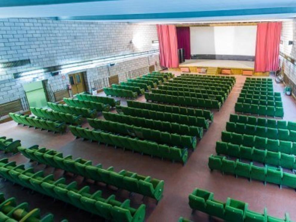 El Salón Blanco será de nuevo el cine de La Almunia.