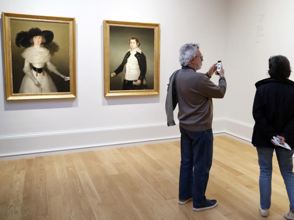 Los tres retratos inéditos de Goya.