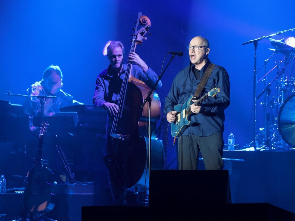 Mark Knopfler, en el concierto de este jueves en Barcelona.