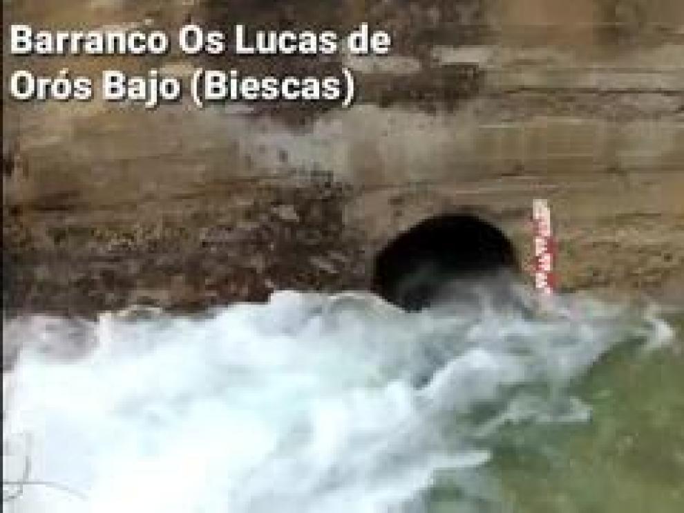 Imágenes captadas por los medidores en el Proyecto Inturpir en Orós Bajo